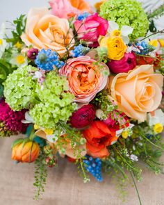 Spring Wedding Flowers - Bristol Wedding Florist - The Rose Shed