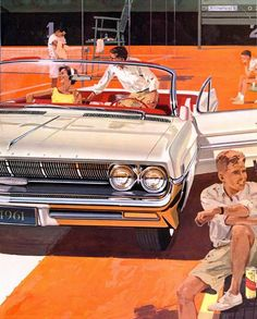1961 Oldsmobile Ninety Eight.