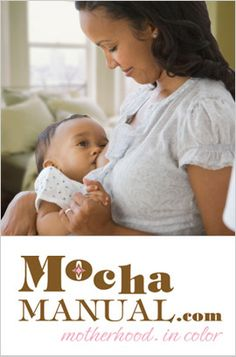 Is the after effects of slavery why Black mothers are not breastfeeding? This article reveals some rather disturbing information about the fact that young AA mother's do not breastfeed their infants in large numbers.     woman breastfeeding the mocha manual motherhood in color