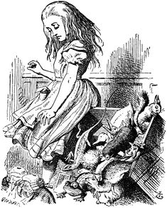 Alice in Wonderland / Lewis Carroll; illustrated by Sir John Tenniel Alice In Wonderland Artwork, Alice In Wonderland Original, Alice In Wonderland Illustrations, John Tenniel, Lewis Carroll, Alice Book, Pin Up, Adventures In Wonderland, Through The Looking Glass