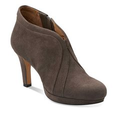 Clarks shoes  Kently Laila booties taupe
