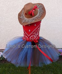 cow girl ...what a cute costume idea!! Cute for Leahs next birthday or halloween!