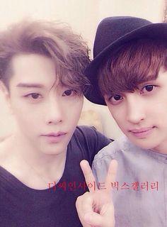 Ken and park hyo shin. Omg Ken is soooo cute!!! Saranghae!!!!! <3