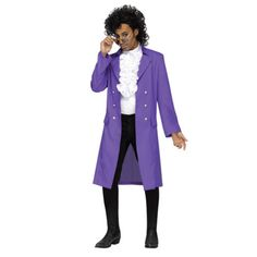 Celebrate Halloween with a Prince Purple Rain costume. Go to the costume party dressed up as pop star Prince. Pop Star Costumes, Adult Costumes, Halloween Costumes, 80s Costume, Rain Costume, Men's Costumes, Halloween Outfits, Prince Purple Rain, Prince Costume Purple Rain