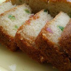 Eggless Semolina Cake recipe by Suhan Mahajan at BetterButter Eggless Desserts, Eggless Recipes, Eggless Baking, Cake Recipes, Dessert Recipes, Cooking Recipes, Bread Recipes, Pastries Recipes, Dairy Recipes