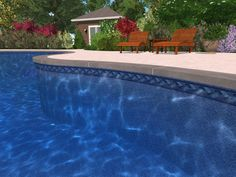 Swiming Pools Wooden Patio Chair With Wooden Patio Table Also Flower Vas And Large Garden Besides Backyard Landscape  Colored Flower  Above Ground Liners  Pool Liner  In Ground Liners  Floating Solar Pool Light  Liner Accessories   The Benefits of Installing Pool Liner