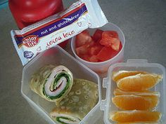 Gluten Free and Dairy Free Kids Lunches