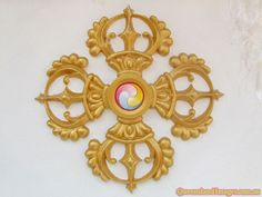 Double Vajra (A symbol of protection).