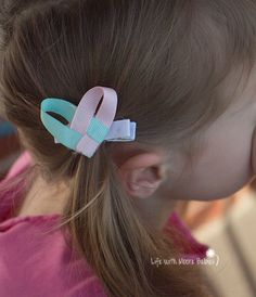 These Interchangeable Hair Clips are the perfect way to continue using the cute interchangeable barefoot baby sandal accessories even after