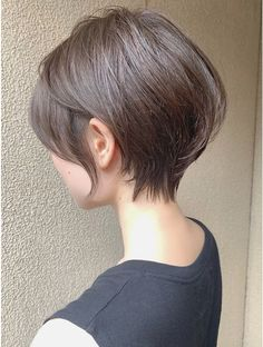 Pin on ボブ Popular Short Haircuts, Short Hairstyles For Women, Cute Hairstyles, Korean Short Hair, Short Hair Cuts, Short Hair Styles, Girl Haircuts, Asian Hair, Love Hair