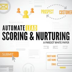 Automate Lead Scoring and Nurturing Lead Nurturing, Marketing Automation, Buyers Guide, Sales And Marketing, White Paper, First Names, Scores, Technology, Tech