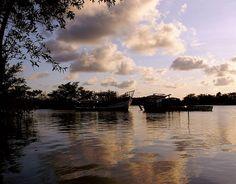 Nordeste: Rio Jaguaribe, Paraíba, Brasil