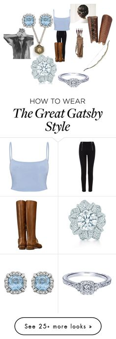 """Roni"" by gilliski on Polyvore featuring Karen Millen, Tory Burch and Tiffany & Co. Great Gatsby Fashion, 20s Fashion, The Great Gatsby, Gatsby Style, Karen Millen, Tiffany, Tory Burch, Polyvore, How To Wear"