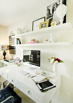 10 Chic Home Offices « Fabulously Disheveled