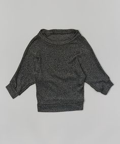 This Black Hachi Dolman Top by Cheryl's Kids Creations is perfect! #zulilyfinds