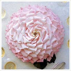 rose shaped cake by ron ben israel