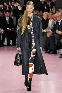 Desfile da marca Dior na Semana de Moda de Paris inverno 2016.