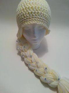 ffdae61c359 Frozen Inspired Elsa Hat by DaisyMayHandmades on Etsy