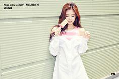 YG Reveals Teasers For New Girl Group Member Jennie Kim.