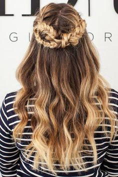 The Game of Thrones Braid for hair down