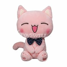 Do you see the pink laughing cat plush toy? Smooth plush and soft cotton make it comfortable to touch. Such cute cat stuffed dolls are at discount now. Kawaii Plush, Laughing Cat, Cat Mouse, Cute Toys, Plush Dolls, Warm And Cozy, Plushies, Kids Toys, Hello Kitty