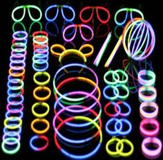 60 Ct. 22 Glow Necklace Value Pack Party Accessory Green