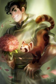 Legend of Korra - Bolin + Pabu by *kimchii on deviantART