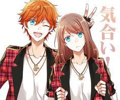 Dark Anime Guys, Hot Anime Boy, Anime Girl Cute, Kawaii Anime Girl, Friend Anime, Anime Best Friends, Anime Cupples, Anime Art, Fairy Tail Ships