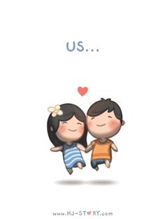 Love is... Us... Together! Forever!