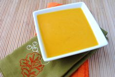 (slow cooker) spiced apple & butternut soup - great for fall