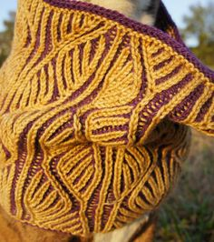 Brioche Colorwork with Mercedes Tarasovich-Clark│Intermediate Level│Learn to create stunning color patterns using brioche stitch in 2 or more colors #knitting #YarnFest15