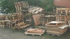 Diverse #Einwegpaletten, #Holzpaletten, Gebraucht, Defekt, #Brennholz, #Bastelholz #diy