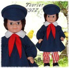 Vêtement pour poupée Modes et Travaux Jean-Michel Février 1977