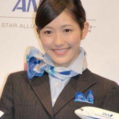 ANAの客室乗務員♡♡ 可愛い(๑´ㅂ`๑)♡*.+゜ #japan#hokkaido#sapporo #flightattendant#cute#beautiful#ANA#日本#全日空#飛行機#綺麗#客室乗務員#制服#マニア#好き#ブルー