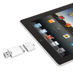 The Only Read And Write iPad Flash Drive. (64 GB) - Hammacher Schlemmer
