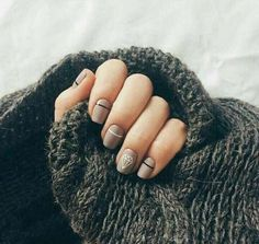 Make an original manicure for Valentine's Day - My Nails Nail Manicure, Diy Nails, Nail Polish, Glitter Nails, Trendy Nail Art, Stylish Nails, Diy Nail Designs, Art Designs, Diy Design
