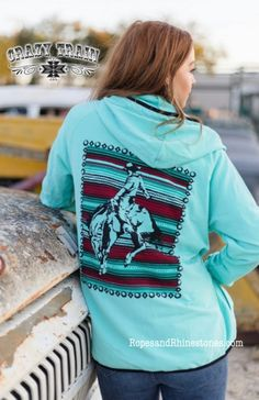 Cowboy Cool Zip Up Hoodie Crazy Train Clothing is trendy, affordable, super cute & now available at Western Soul! Get your favorite style today! Western Outfits Women, Western Wear For Women, Cool Jackets, Jackets For Women, Crazy Train Clothing, Country Wear, Western Chic, Dress For Success, Western Shirts