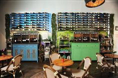24 bottle installation at Wine Huntress in Chicago, IL.