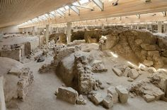 A Bronze age settlement on the Greek island of Santorini might have been the inspiration for Plato's Atlantis.
