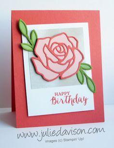 Pocket Sketch Challenge #4: Rose Garden Thinlit Birthday Card