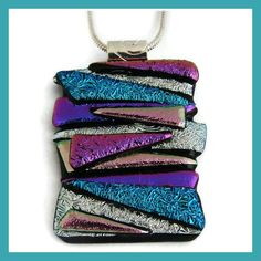 Handmade Australia :: The online handmade marketplace :: Open 24 hours :: Buy, Sell, Learn Dichroic Glass Jewelry, Glass Pendants, Picasso Style, Upcycled Vintage, Jewerly, Glass Art, Coin Purse, Handmade Jewelry, Bling