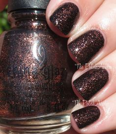"""The PolishAholic: China Glaze Halloween 2014 Apocalypse of Color Collection Swatches & Review """"Getting to Gnaw You"""""""