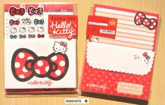 Sanrio Hello Kitty letter set red - From Severine