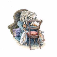 The Illustration Cupboard - Inga Moore - The Wind in the Willows