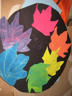 Wilkinson's Wonderful World of Art: November 2010.  1st Grade color wheel.  Painting, mixing, tracing, cutting, and gluing.  Great lesson!