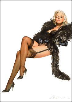 Marilyn Monroe by Hajime Sorayama