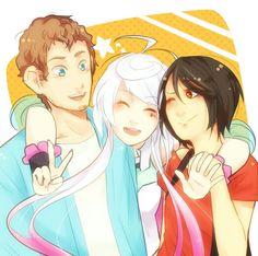 Bruno, Maika, e Clara - Vocaloid #RenanRodrigues