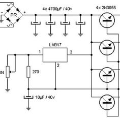 transformer less 5 volt power supply circuit project | Hubby Project ...