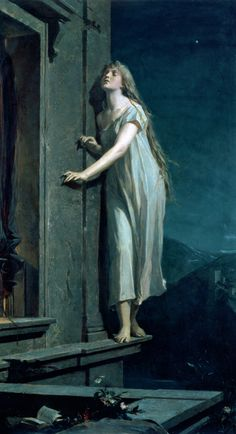 The Sleepwalker. 1878. Maxmilian Pirner.