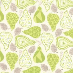 Kate Spain for Moda North Woods Spruce Light Green 100% Cotton